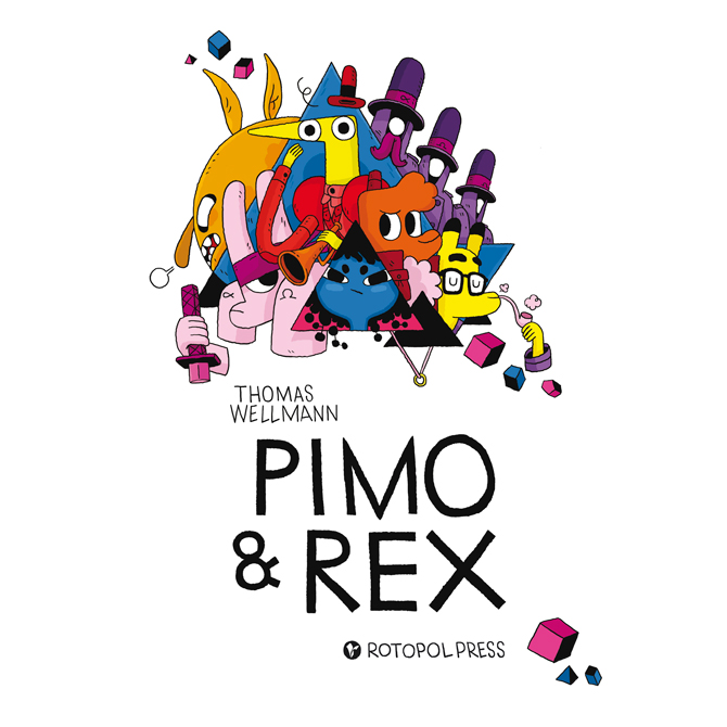 Pimo & Rex - Deutsches Cover