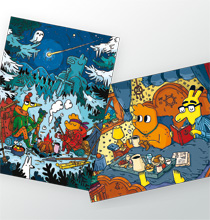 Pimo & Rex - Postkartenset 01